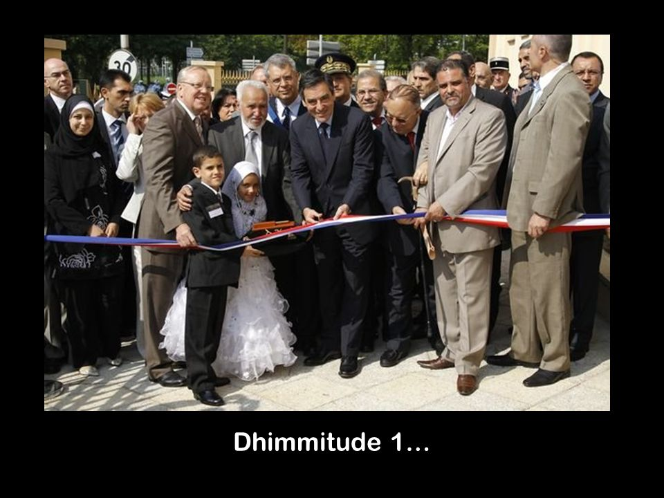 Dhimmitude 1…
