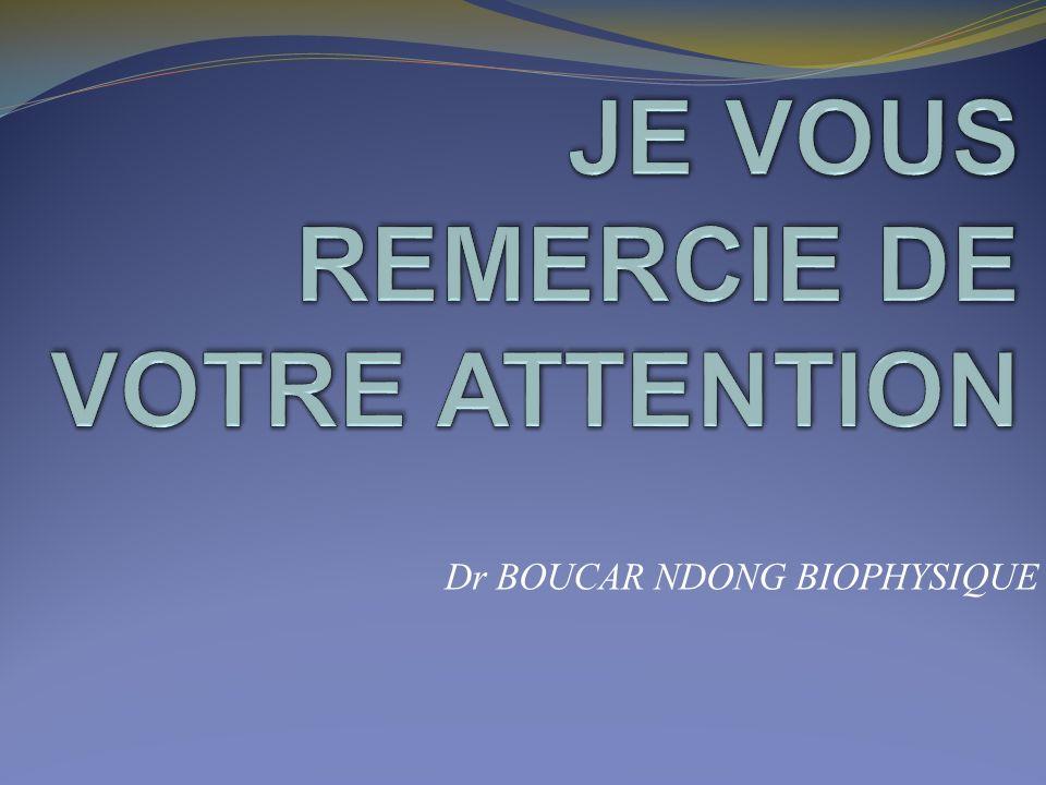 Cours P C E M2 De Biophysique Dr Boucar Ndong Fmpos Ucad Ppt