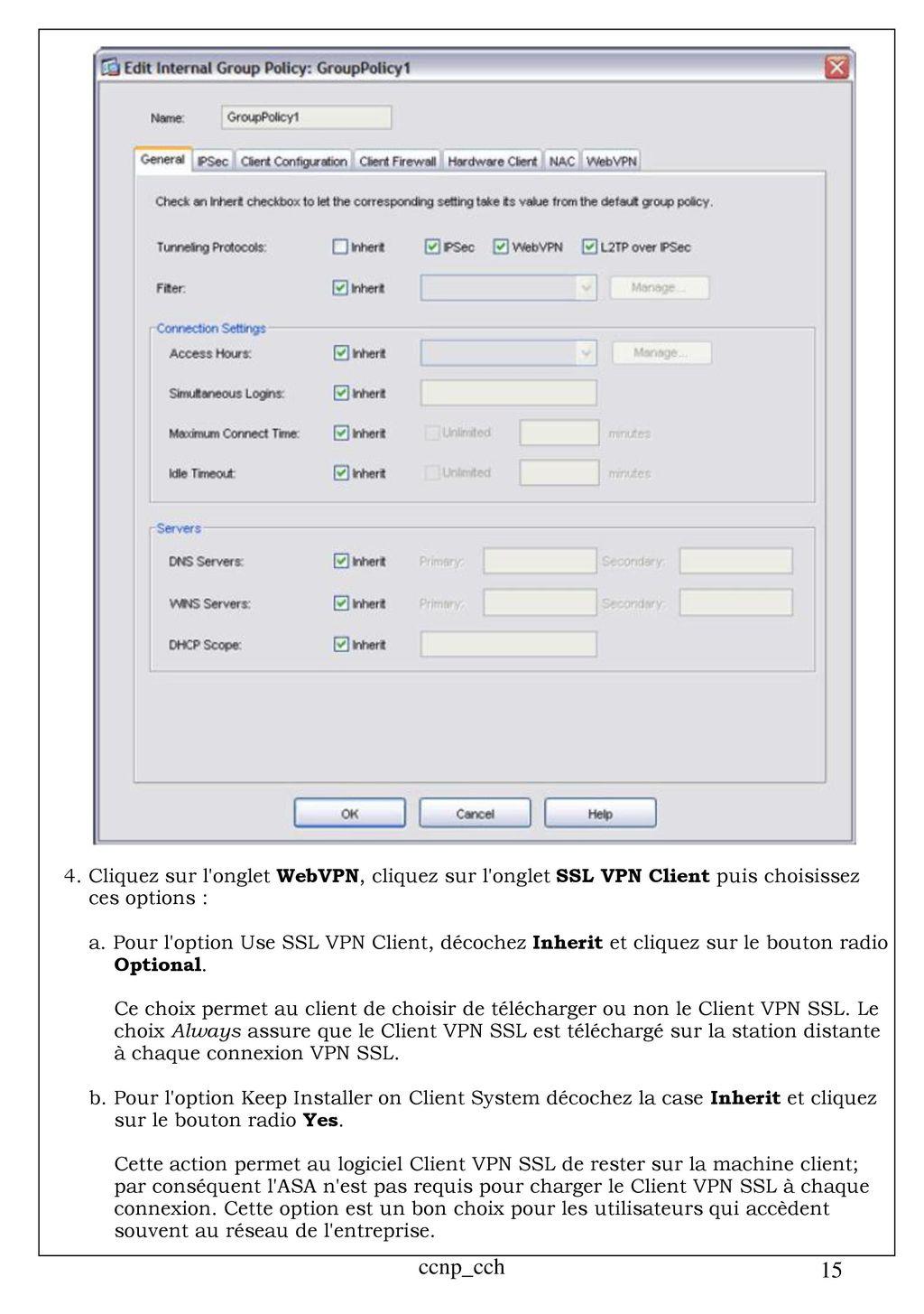 Client VPN SSL avec ASDM - ppt télécharger