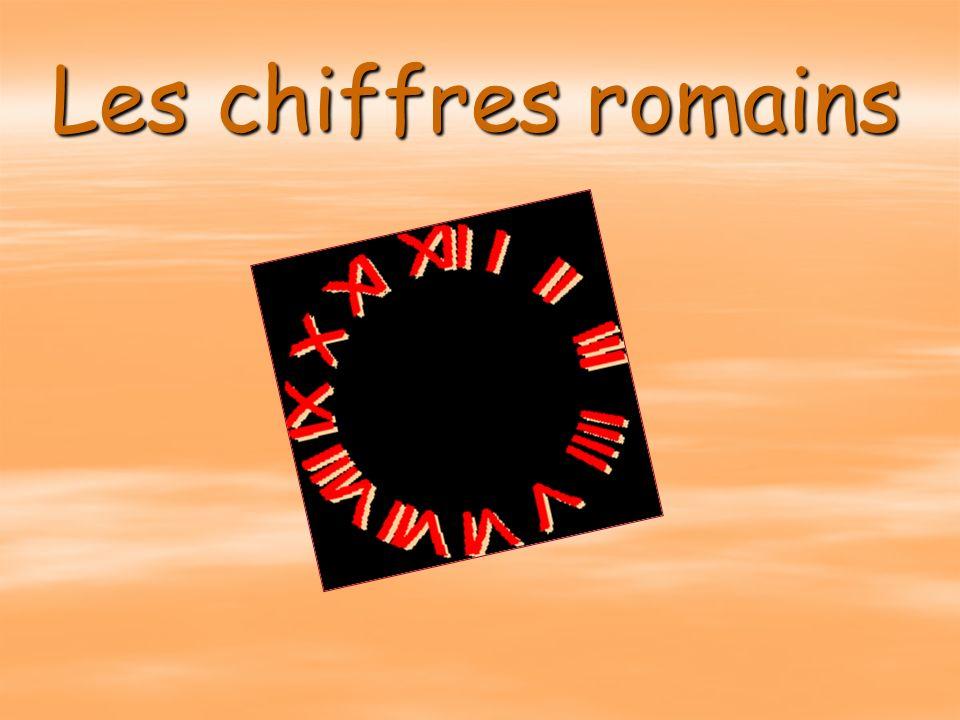 Les Chiffres Romains Ppt Video Online Telecharger