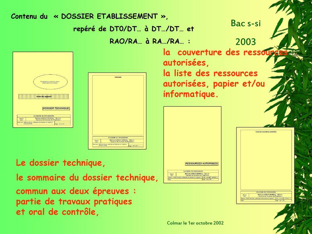 bac s si 2003 ordre du jour 9h 9h15 accueil ppt. Black Bedroom Furniture Sets. Home Design Ideas