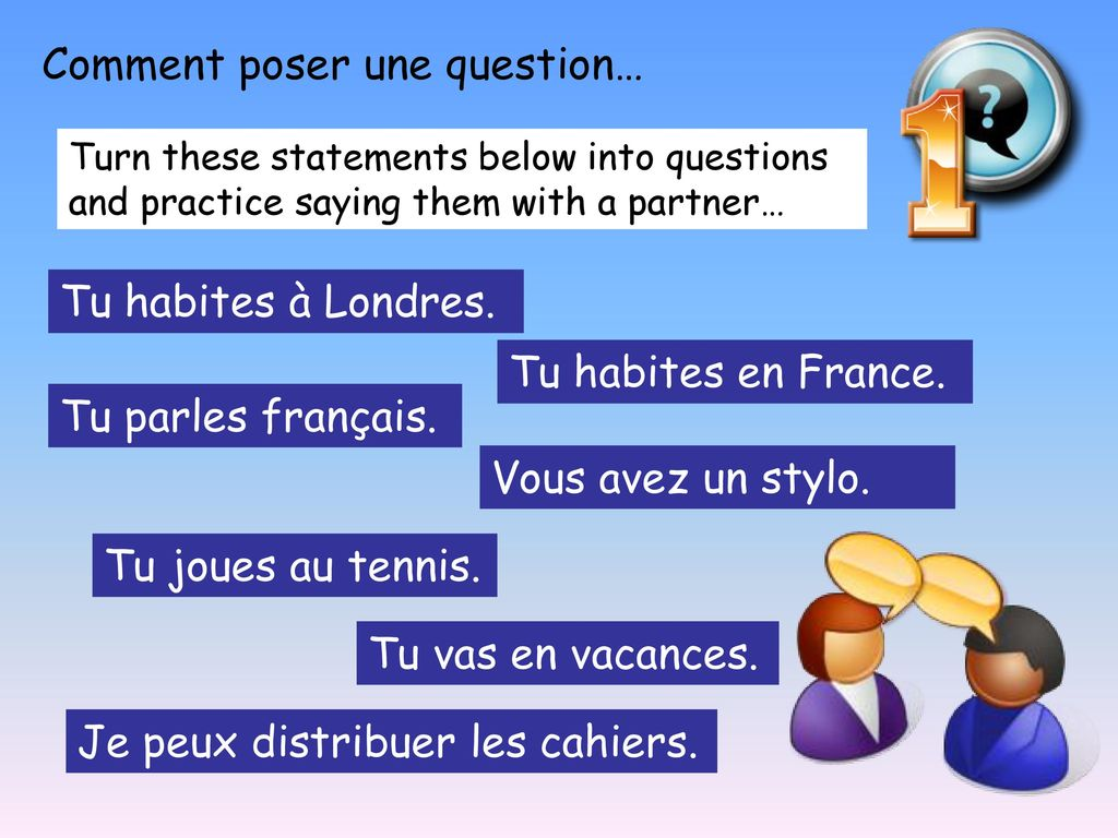 Comment poser une question…