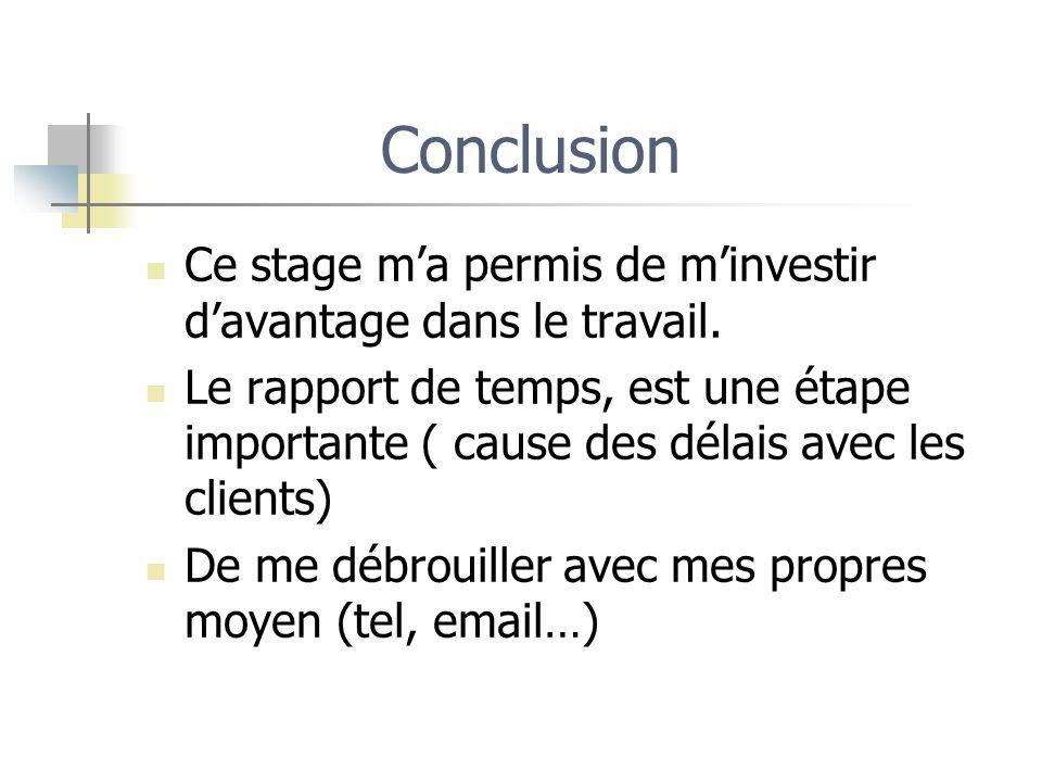 Rapport De Stage Effectue Dans L Entreprise Dactem Ppt Video
