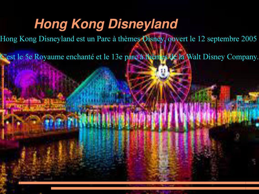 Les Parcs Disney Ppt Telecharger