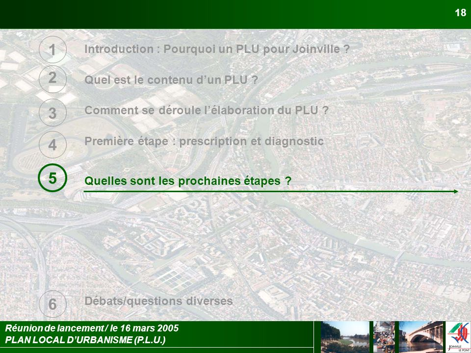 Introduction : Pourquoi un PLU pour Joinville