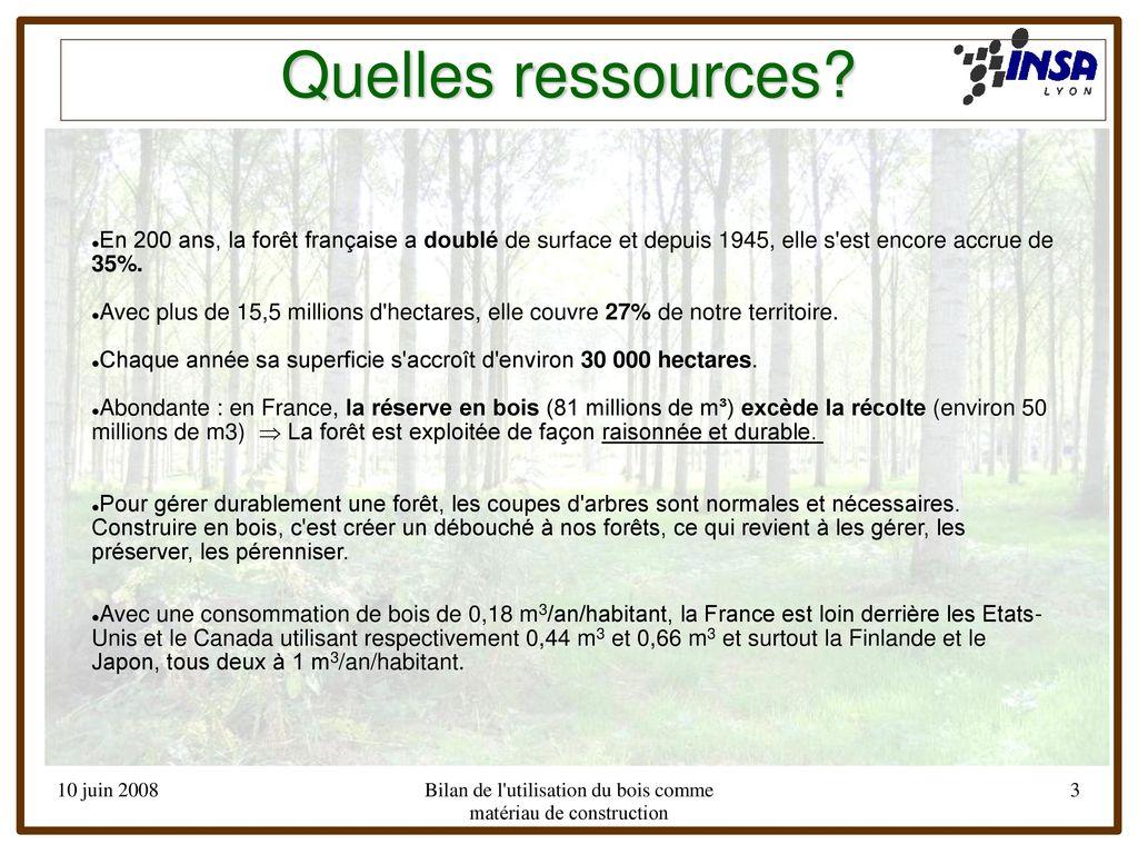 Bois Rétifié Prix M2 cours d'eco-conception - ppt télécharger