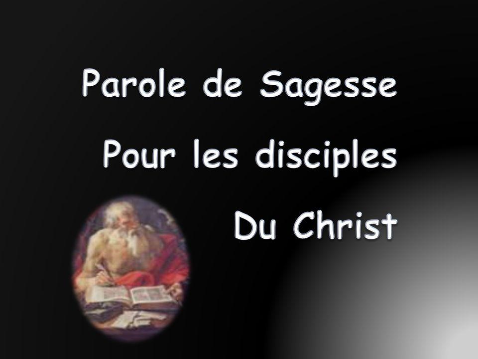 Populaire Parole de Sagesse Pour les disciples Du Christ - ppt video online  MQ28