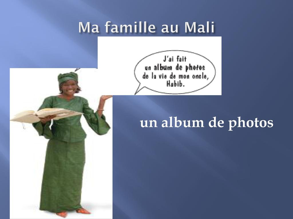 Ma famille au Mali un album de photos