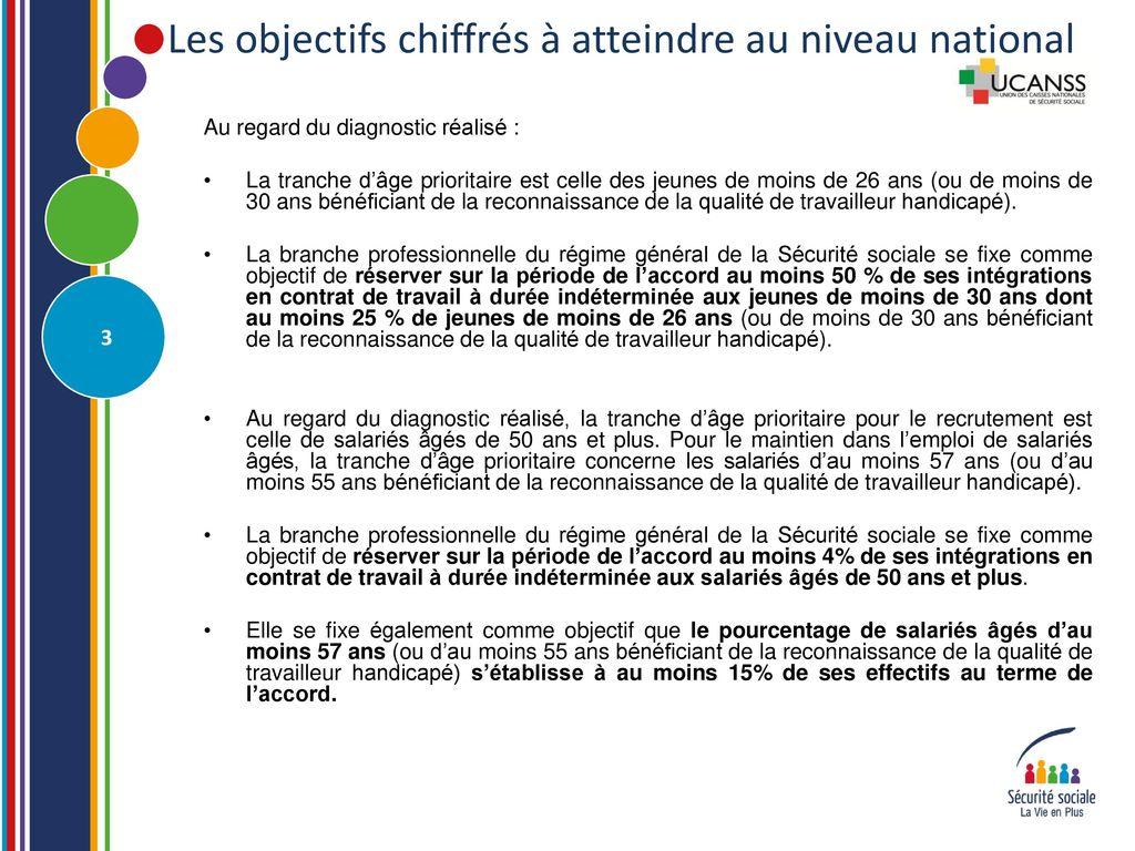 Presentation De L Accord Relatif Au Contrat De Generation Ppt