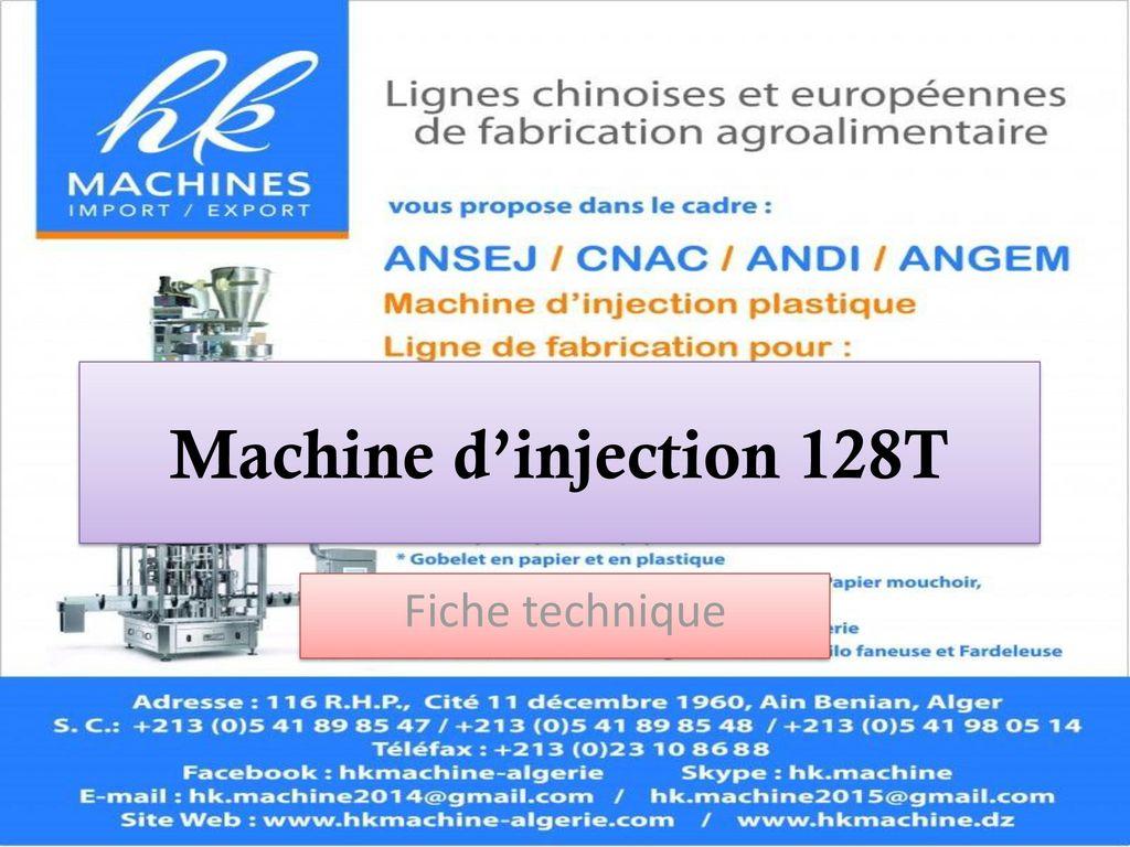 machine d injection 128t fiche technique ppt video online t l charger. Black Bedroom Furniture Sets. Home Design Ideas