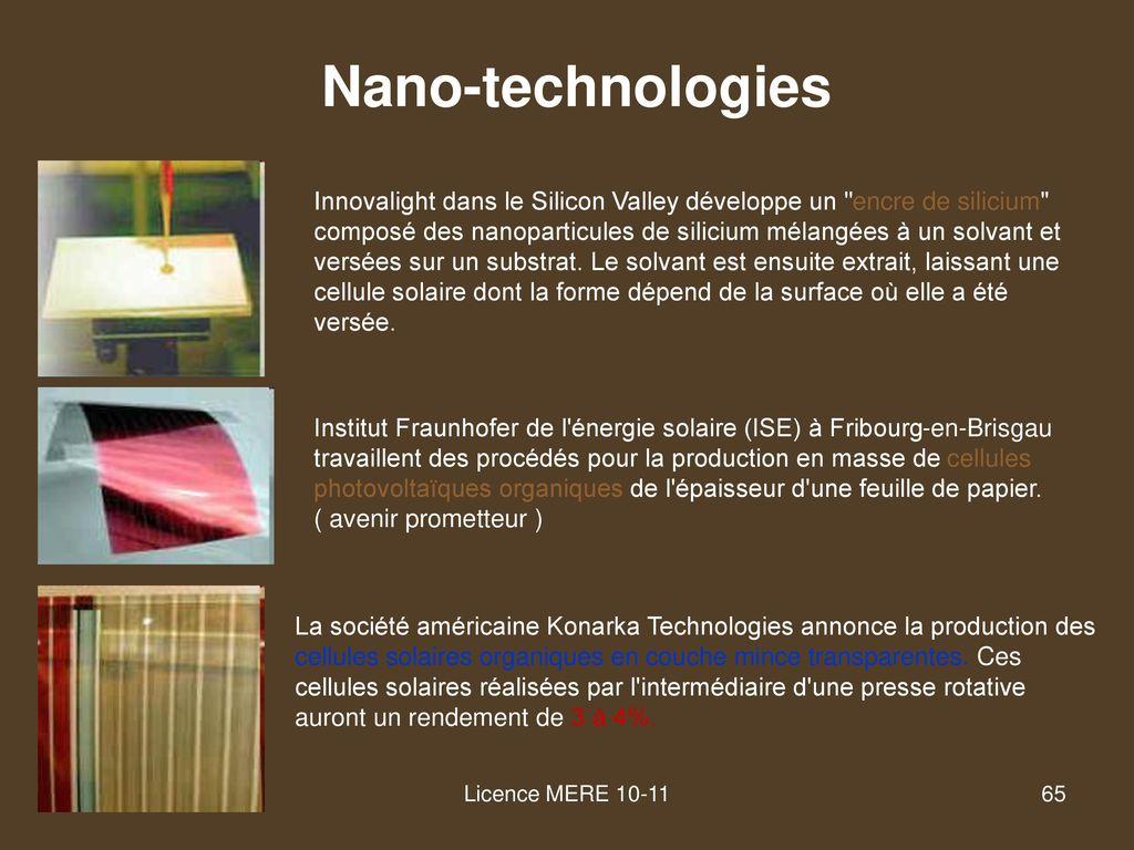 Cellule Photovoltaïque En Silicium Amorphe tout les différentes technologies - ppt télécharger