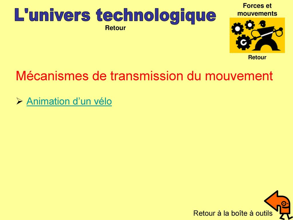 L univers technologique