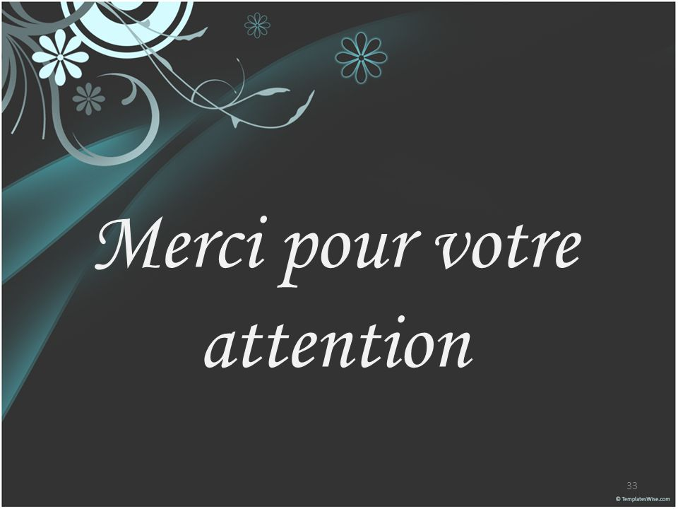 Merci Pour Votre Attention Animation