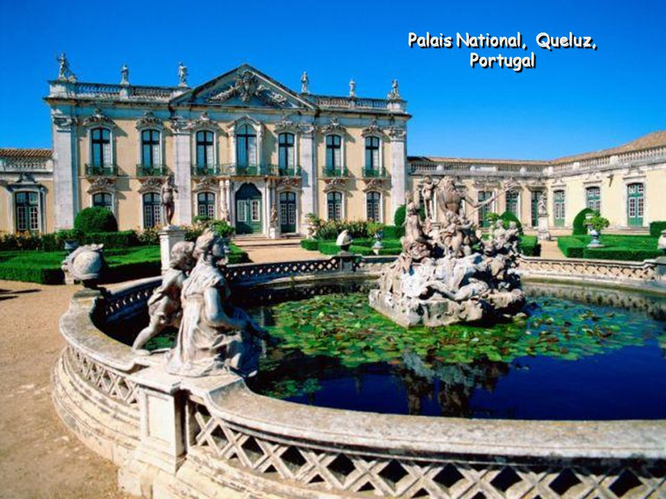 Palais National, Queluz, Portugal