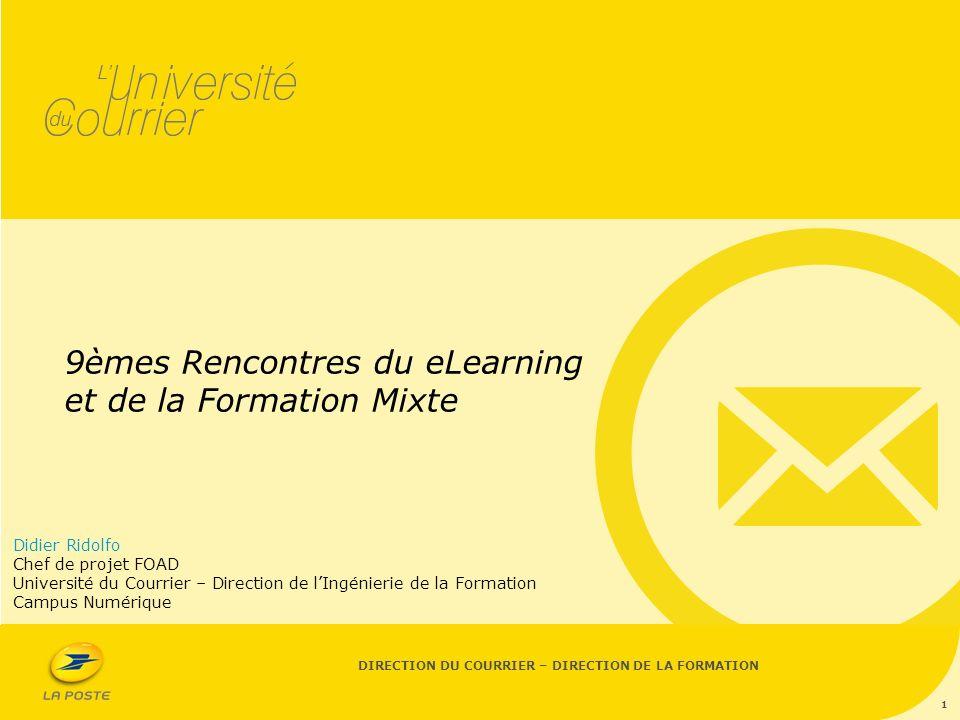 Rencontres du e-learning et de la formation mixte 2016