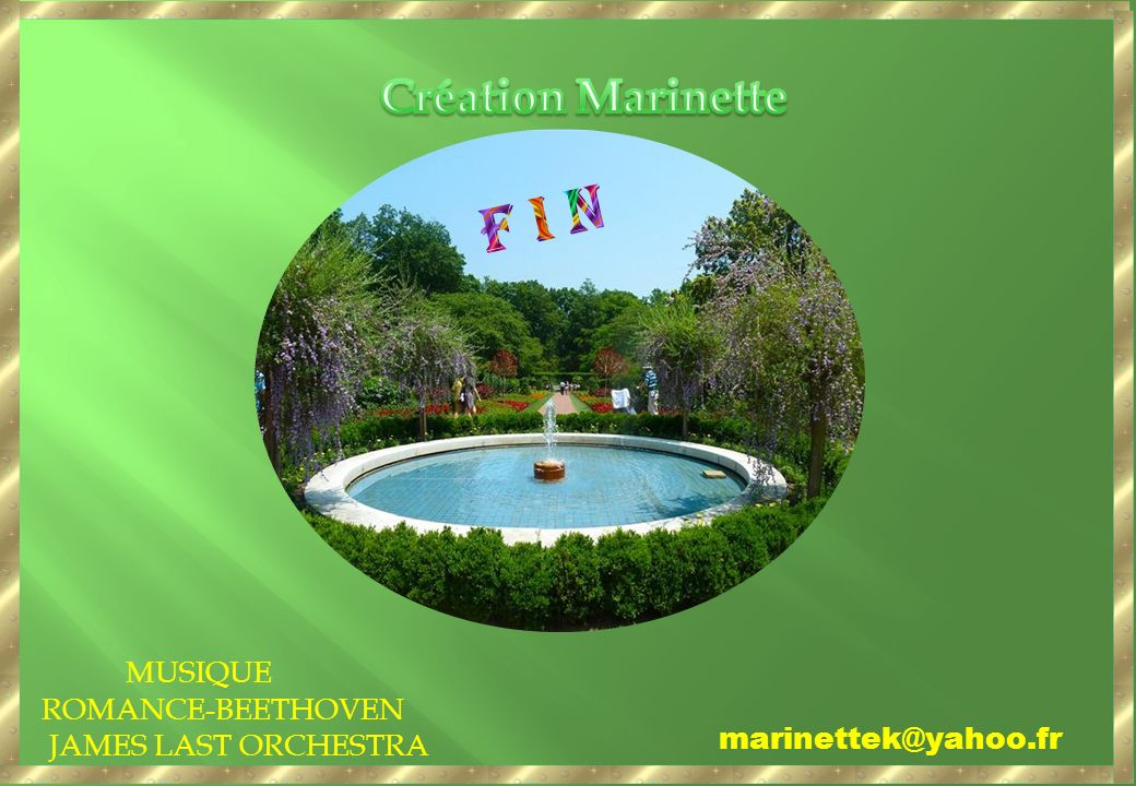 F I N Création Marinette MUSIQUE ROMANCE-BEETHOVEN