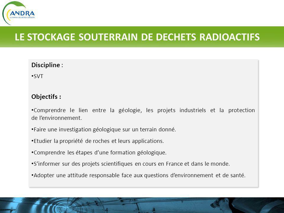 Comment le travail de datation relative et radioactive