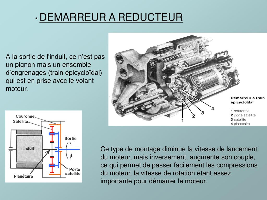 DEMARREUR A REDUCTEUR