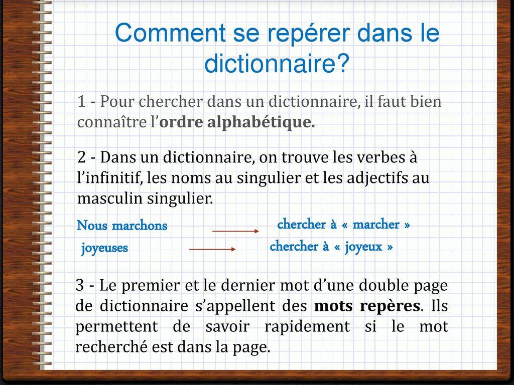 Vocabulaire cm le dictionnaire ppt t l charger for Dans wiktionnaire