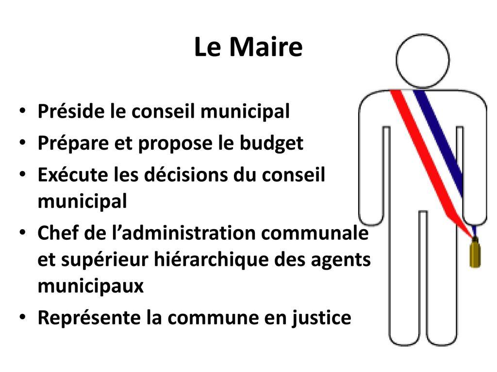 décisions conseil municipal