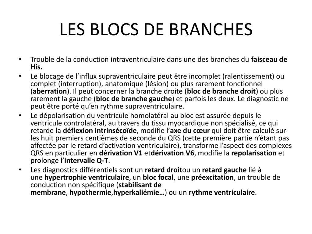 Hypertrophie et blocs de branches ppt t l charger - Peut on couper des branches du voisin ...