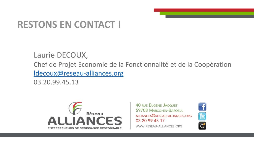 RESTONS EN CONTACT ! Laurie DECOUX,