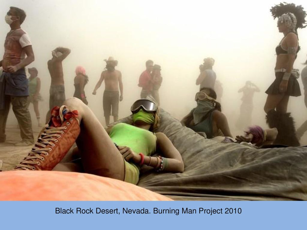 Black Rock Desert, Nevada. Burning Man Project 2010