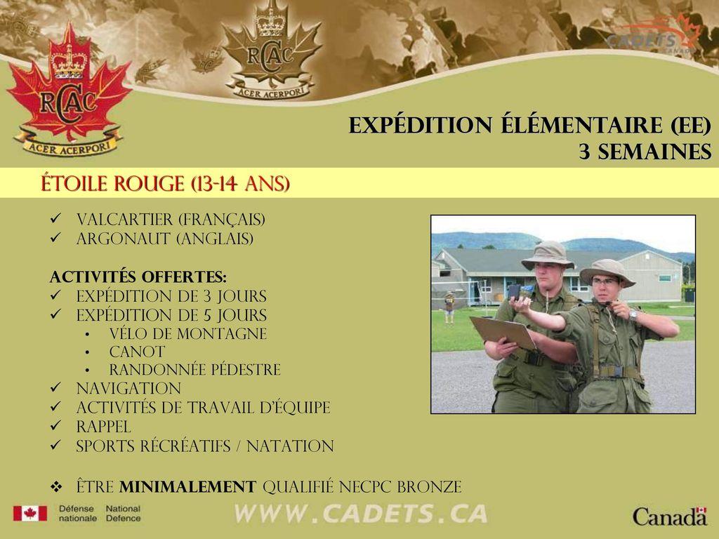Informations Sur Les Camps Dété Et Les Expéditions été