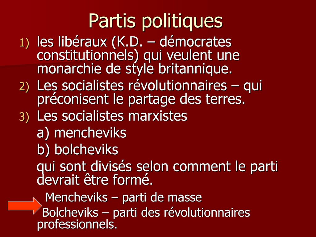 partis libéraux démocrates