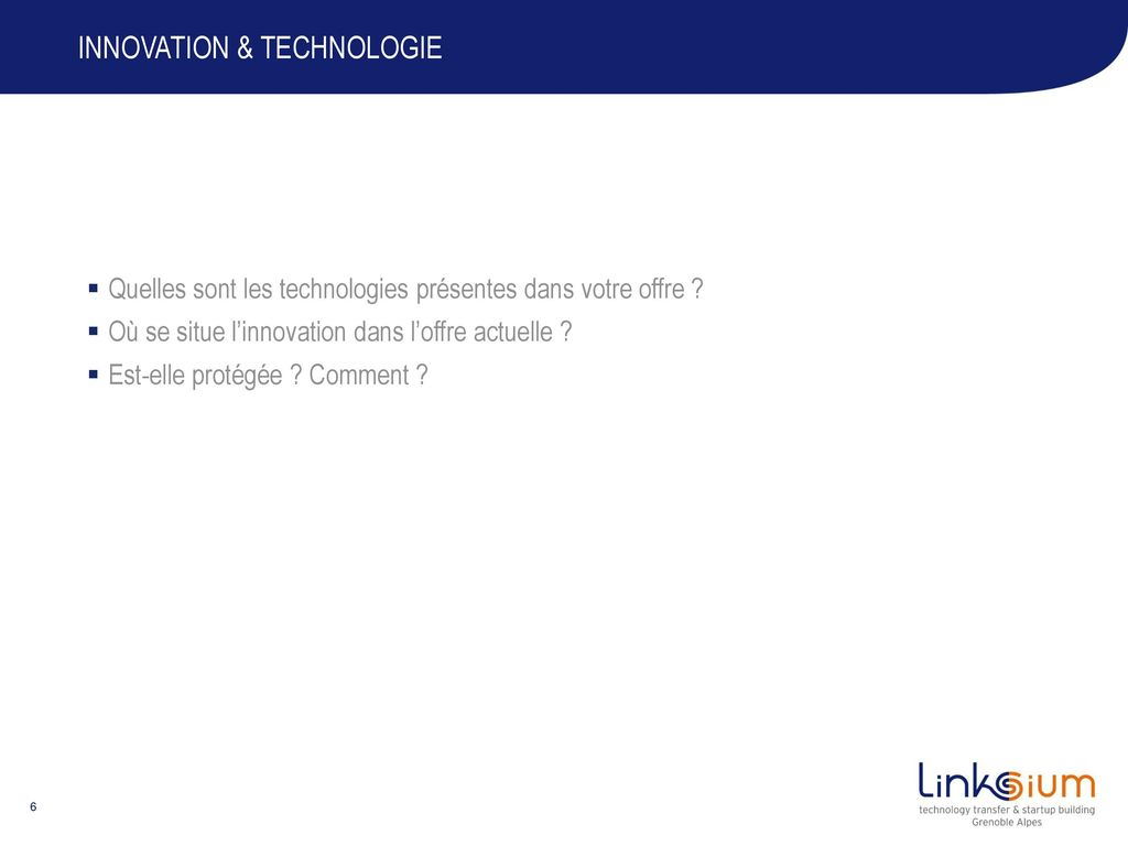 Innovation & technologie