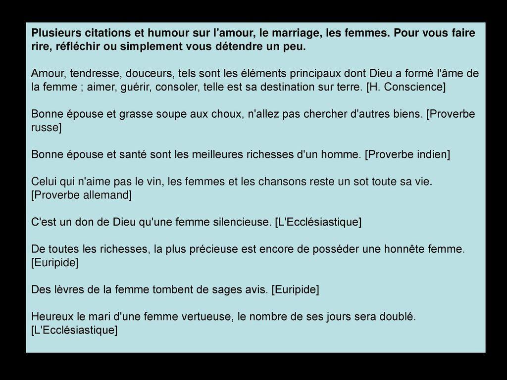 Pps Ratzel Patricia Citations Amour Mariage Ect Cliquez