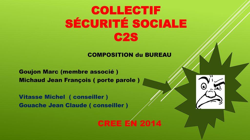 5dd0f9f4418 COLLECTIF sécurité sociale c2s - ppt télécharger