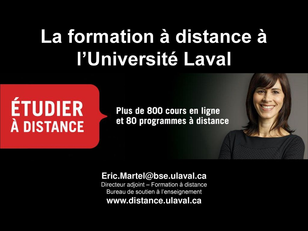 formation a distance ulaval