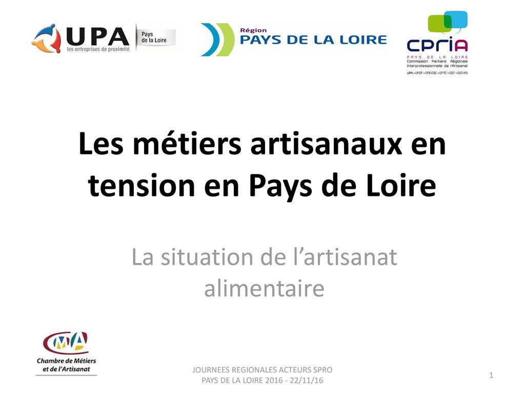 Les Métiers Artisanaux En Tension En Pays De Loire Ppt Télécharger - Chambre des metiers pays de la loire