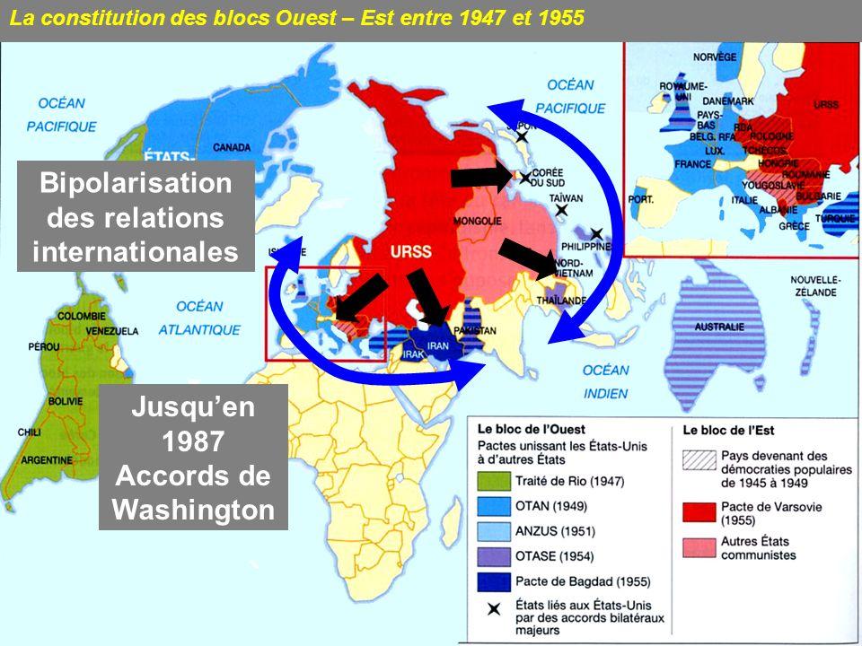 Carte Du Monde Pendant La Guerre Froide.La Guerre Froide Introduction En Cartes Ppt Video Online