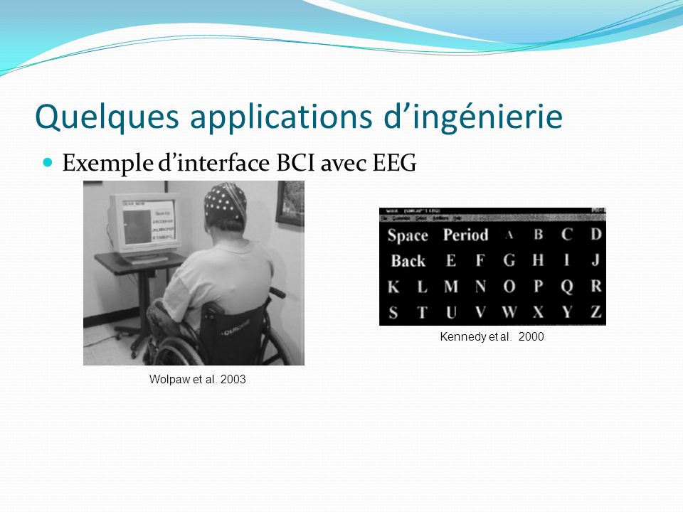 Quelques applications d'ingénierie