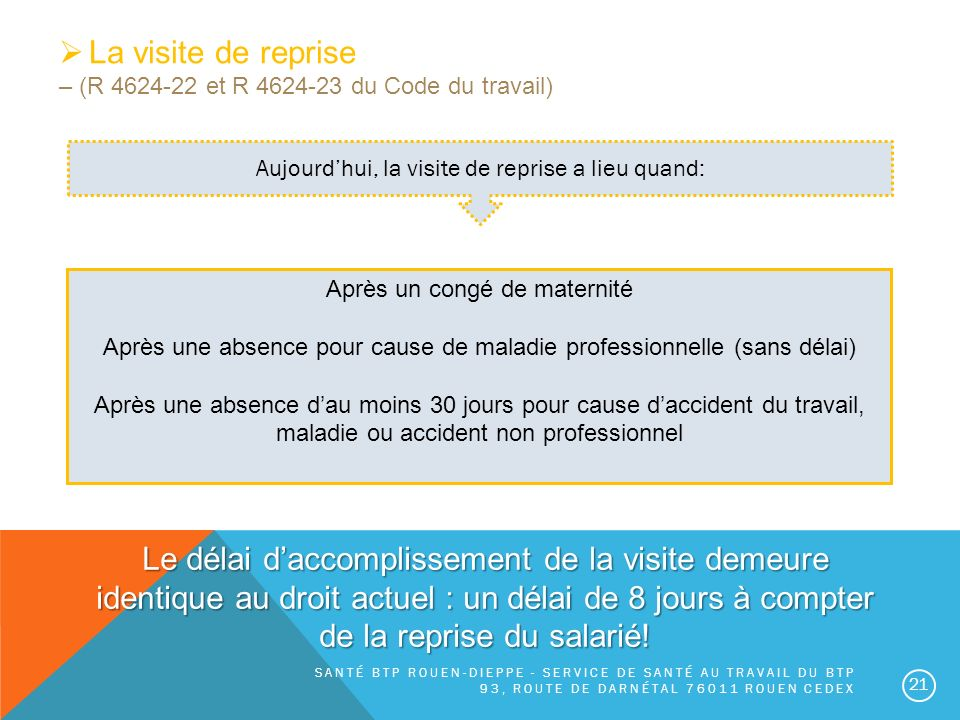 La Reforme De Sante Au Travail Ppt Video Online Telecharger
