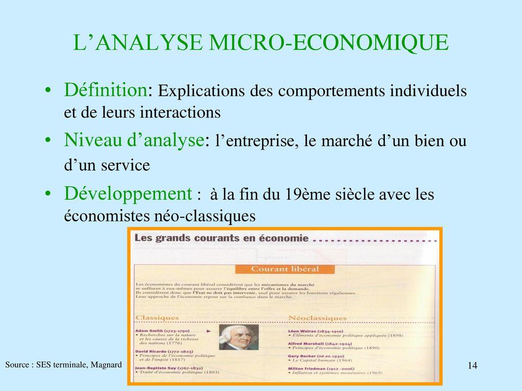 Cours D Economie 1ere Annee Lea Ppt Telecharger