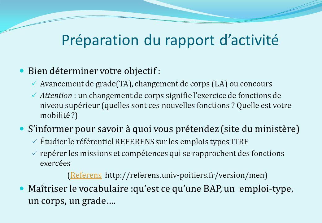 le rapport d u2019activit u00e9 professionnelle