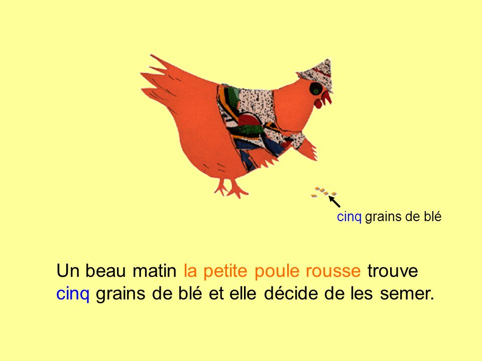 la petite poule rousse the little red hen ppt video online t l charger. Black Bedroom Furniture Sets. Home Design Ideas