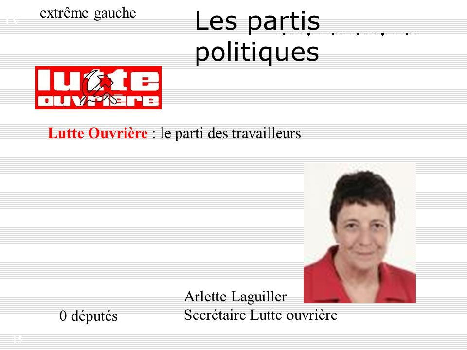 president lutte ouvriere