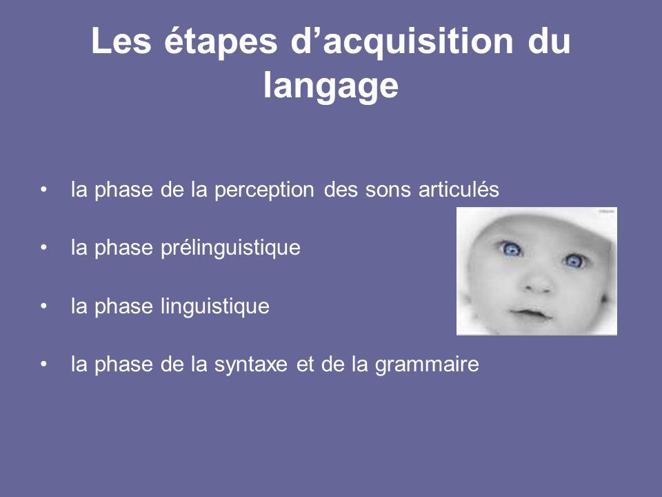 Les facteurs impliqués dans l apprentissage du langage chez l enfant ... 99bd2104485