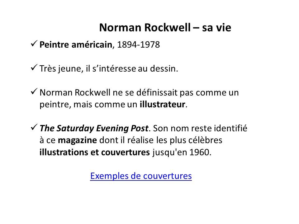 mouvement artistique de norman rockwell