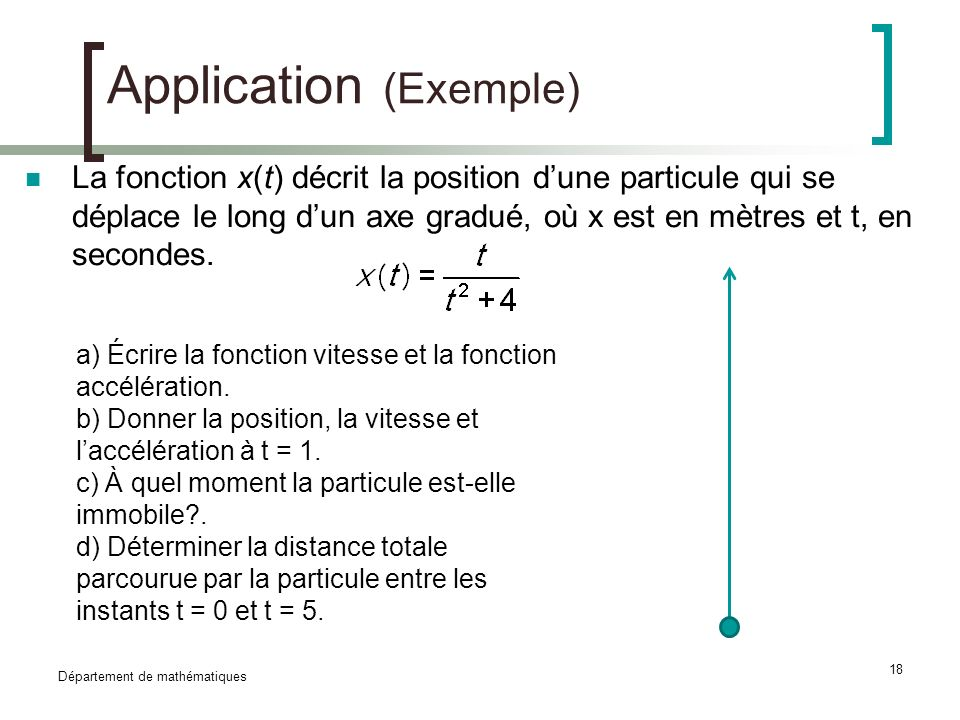 Application (Exemple)