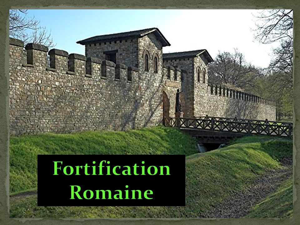 Fortification Romaine