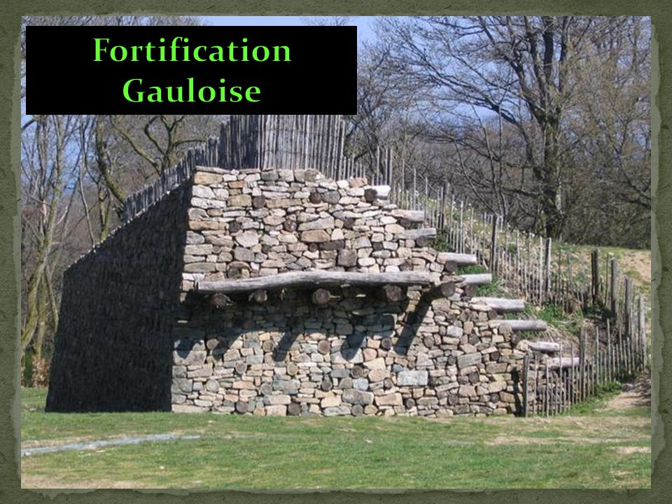 Fortification Gauloise