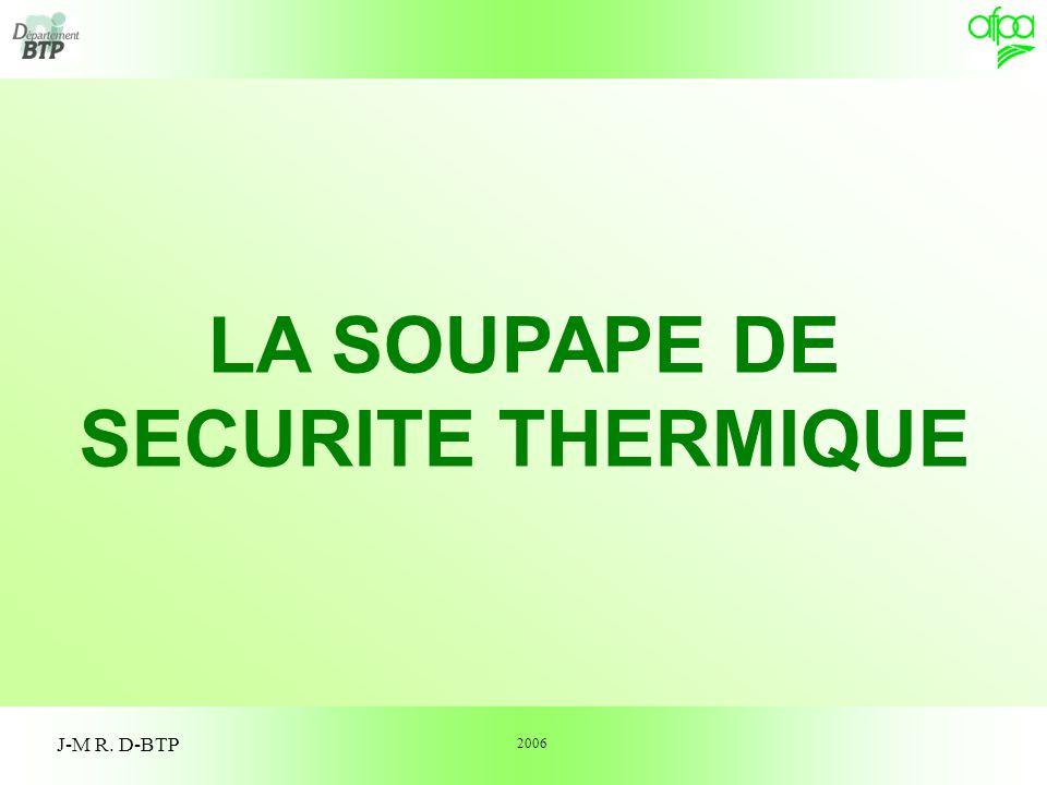 la soupape de securite thermique ppt video online t l charger. Black Bedroom Furniture Sets. Home Design Ideas