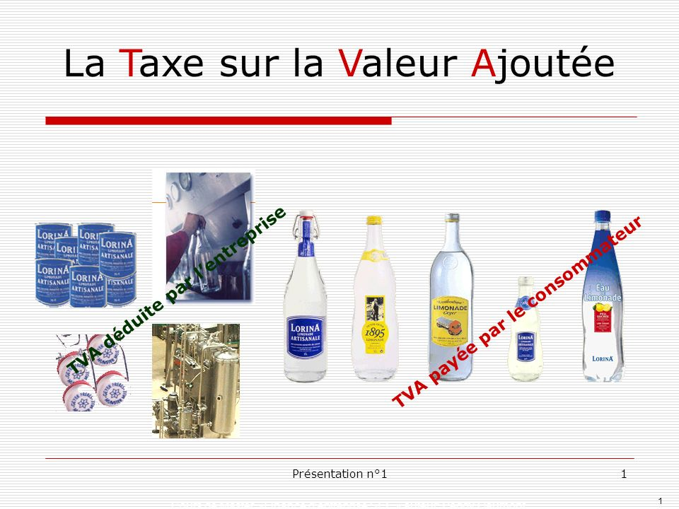 La Taxe Sur La Valeur Ajoutee Ppt Telecharger