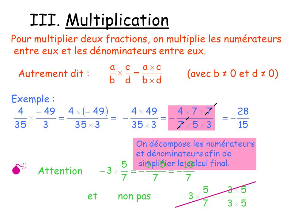III. Multiplication  Attention