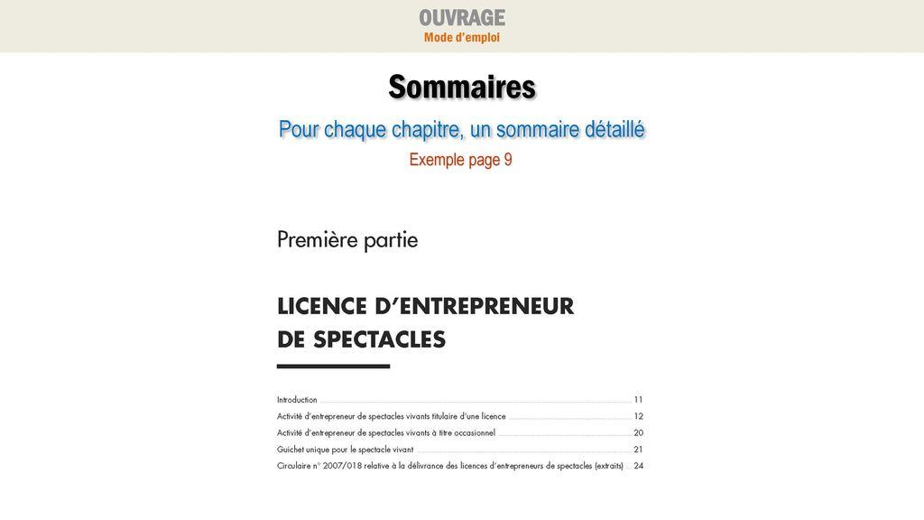 Licence D Entrepreneur Ppt Télécharger
